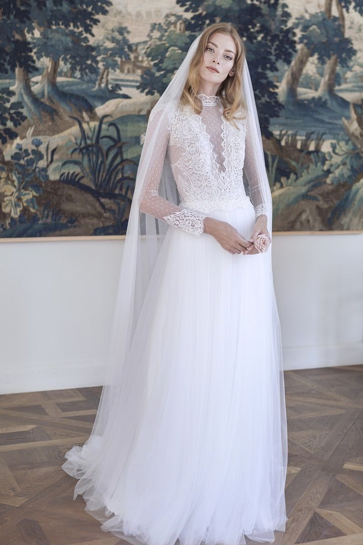 Long Sleeve Wedding Dress - Divine Atelier 2017 Wedding Dresses | itakeyou.co.uk #weddingdress #weddingdresses #bridaldress