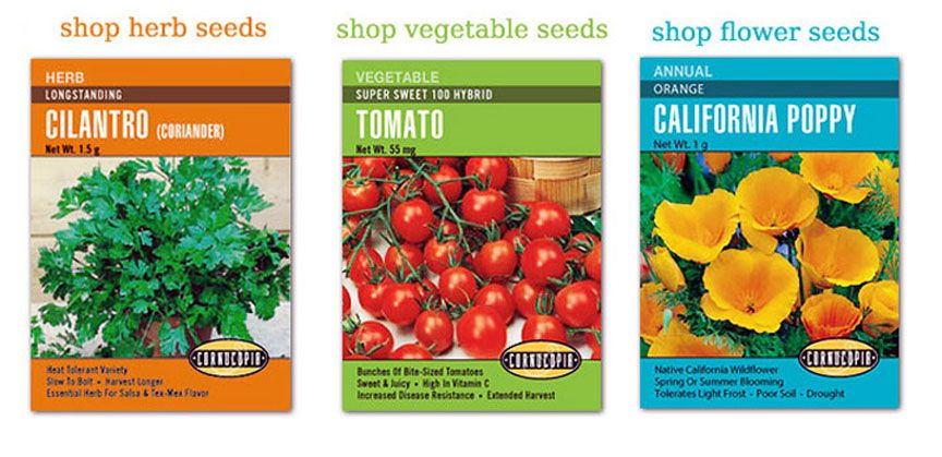 Cornucopia Seeds Northern California Heirloom Seed Company Certified Gmo Free Located In Felton