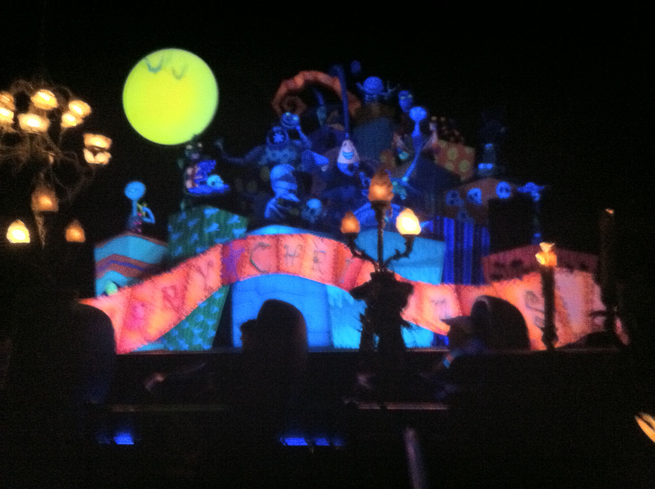 Nightmare Before Christmas in Disneyland