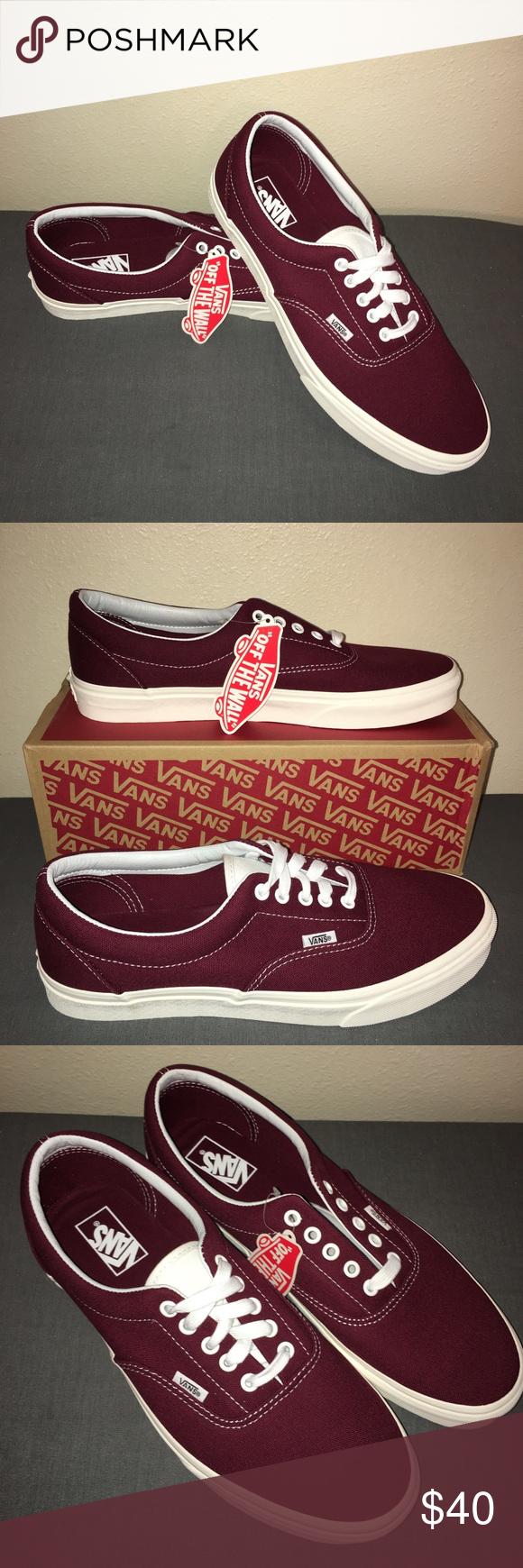 141c4c75977b31 Vans Era (retro sport) Port Royale Brand New ! Burgundy Vans Shoes Sneakers