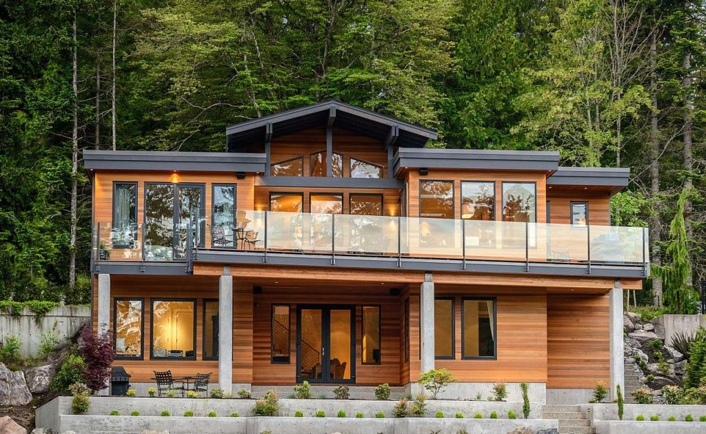 Timeless West Coast Contemporary Home With A Zen Like Sophistication Idesignarch Interior Design Architecture Interior Decorating Emagazine Contemporary House House Exterior West Coast House