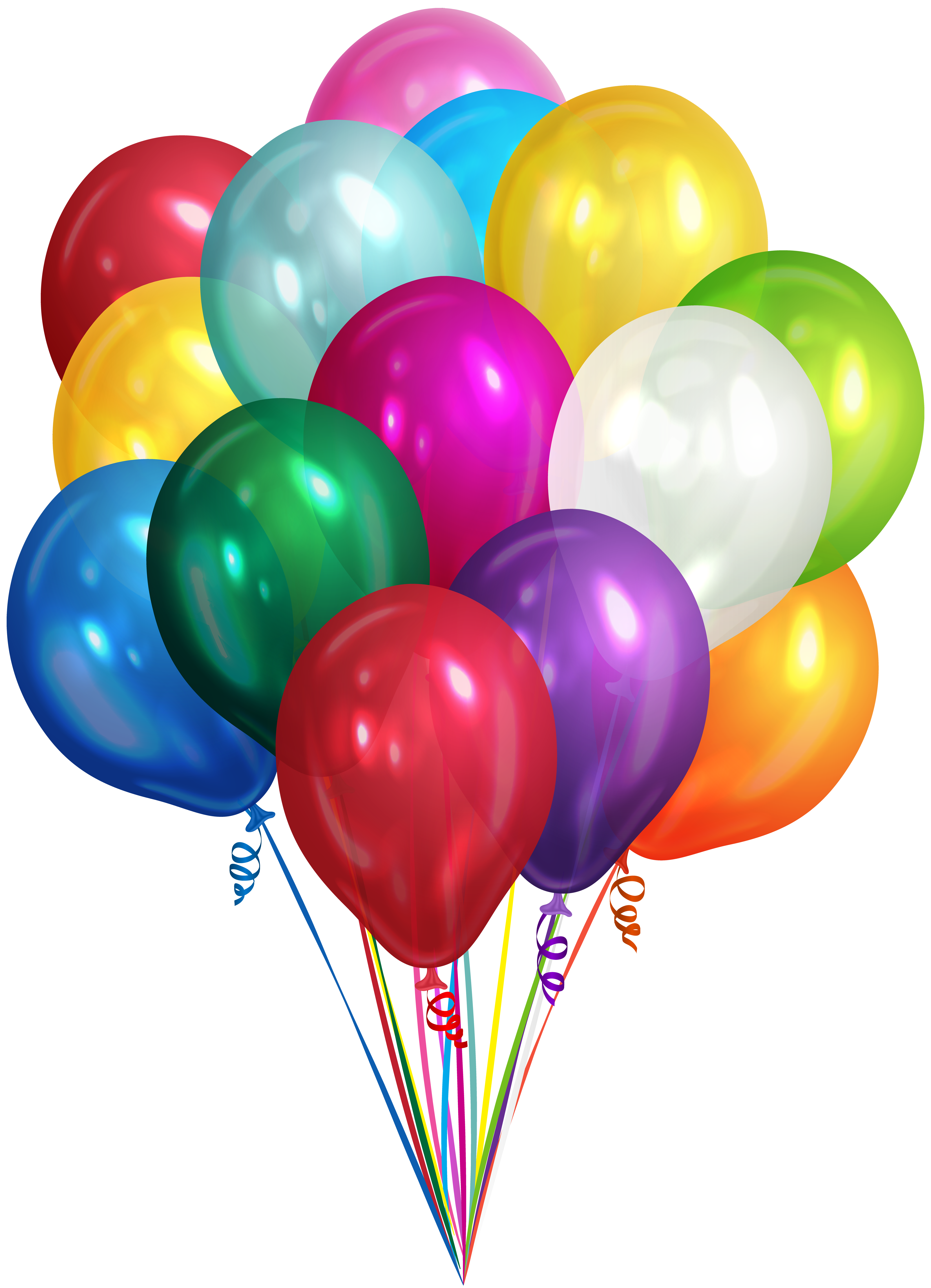 Bunch Of Balloons Transparent Clip Art Png Image Gallery Yopriceville High Quality Images And Transparent Png Free Cl Happy Birthday Png Balloons Clip Art