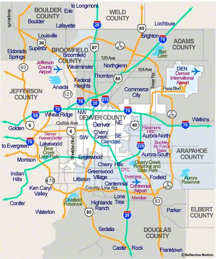 map of metro denver area Denver Map Denver Map Denver Neighborhoods Metro Map map of metro denver area