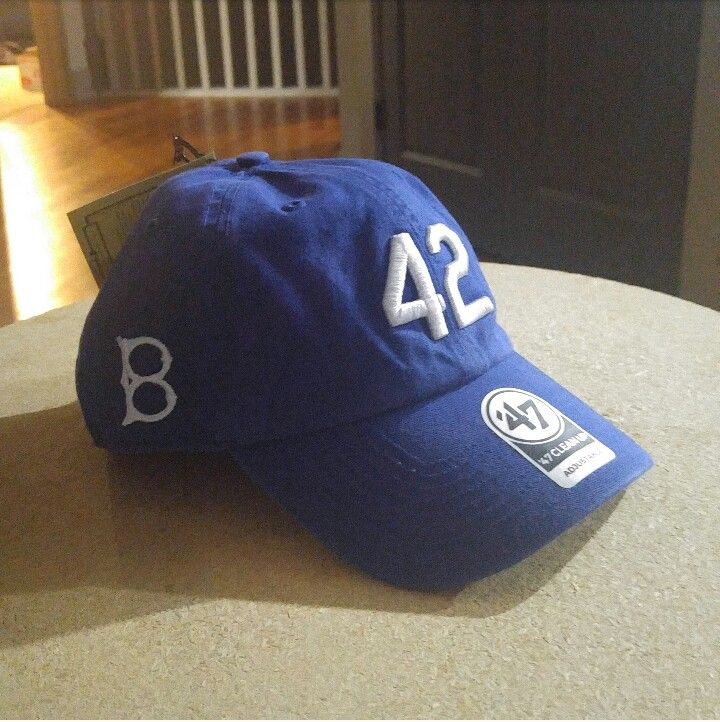 Brooklyn Dodgers 42 Hat From Lids New To My Collection Dodger Hats Dodgers Hats