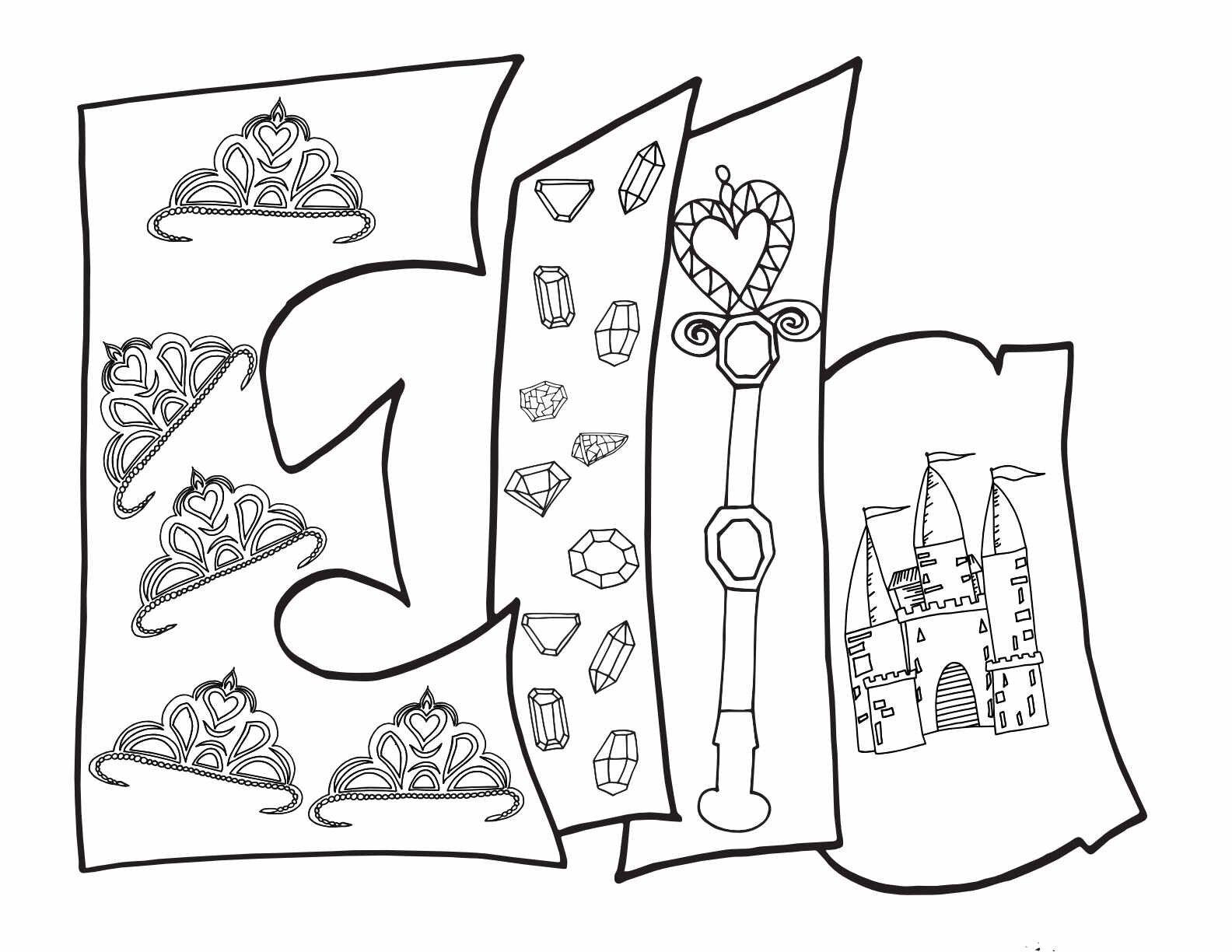 Ella Free Printable Princess Coloring Page Stevie Doodles In 2020 Name Coloring Pages Free Printable Coloring Pages Coloring Pages