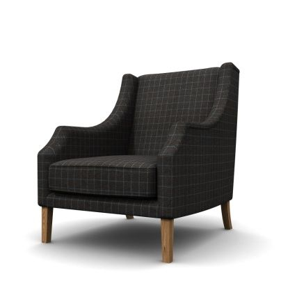 Five Square Imagery — Product visualisation for armchair covered in genuine Harris Tweed. Edinburgh, UK. #render #3d #visualisation