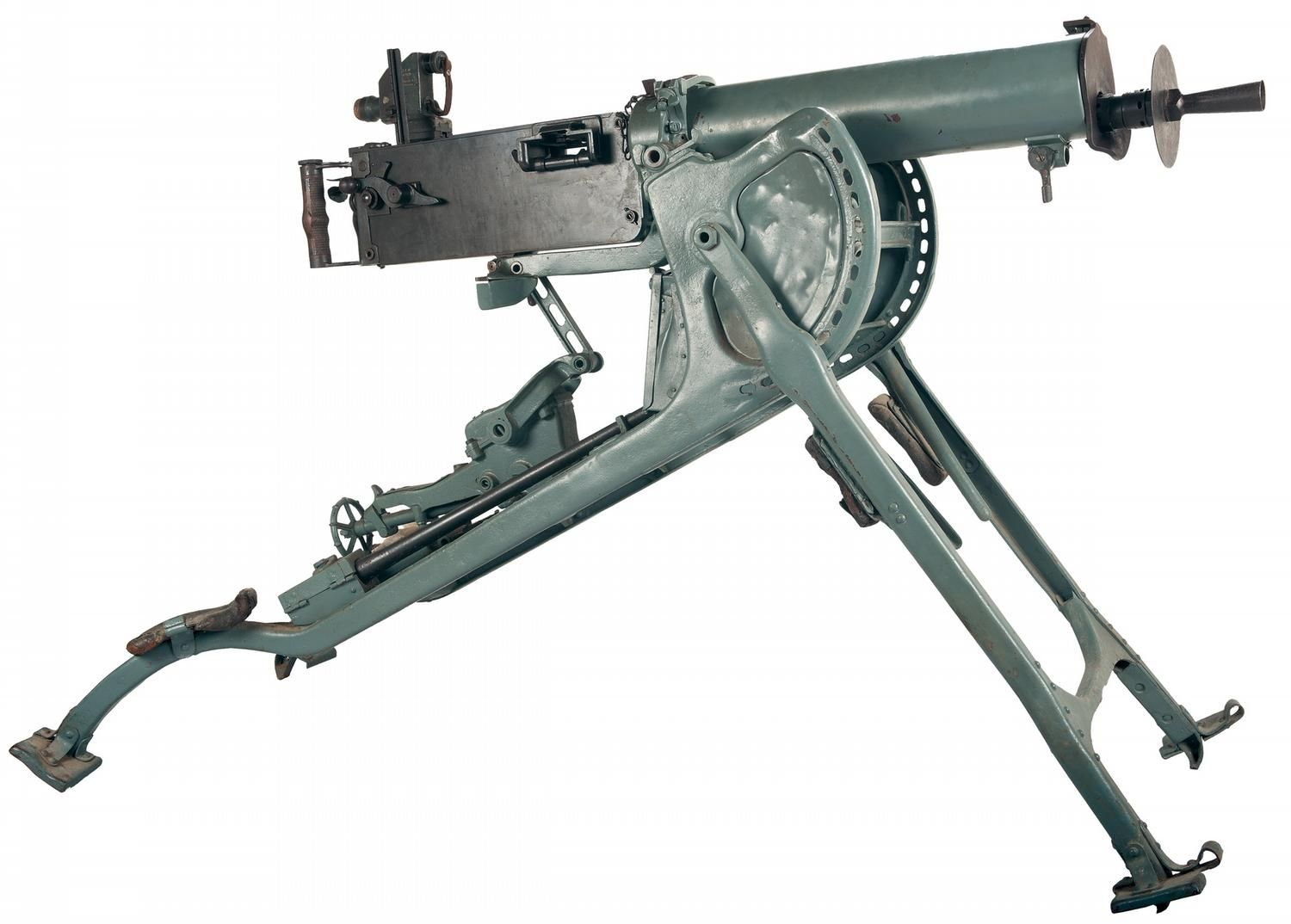 the maxim gun Hiram s maxim, an american living in britain, invented this weapon in 1884 by the early 1890s it had become the standard machine gun of the british army and was later adopted by the royal navy.