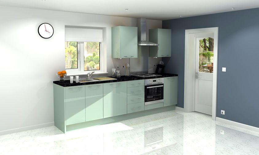 Astral Blue  Kitchen Units  Magnet  Kitchen  Pinterest Gorgeous Blue Kitchen Design Inspiration Design