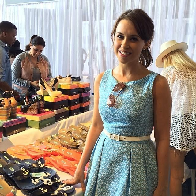 Lacey Chabert is a fan of OKA B shoes! Available @ saraelizabethskincare.com
