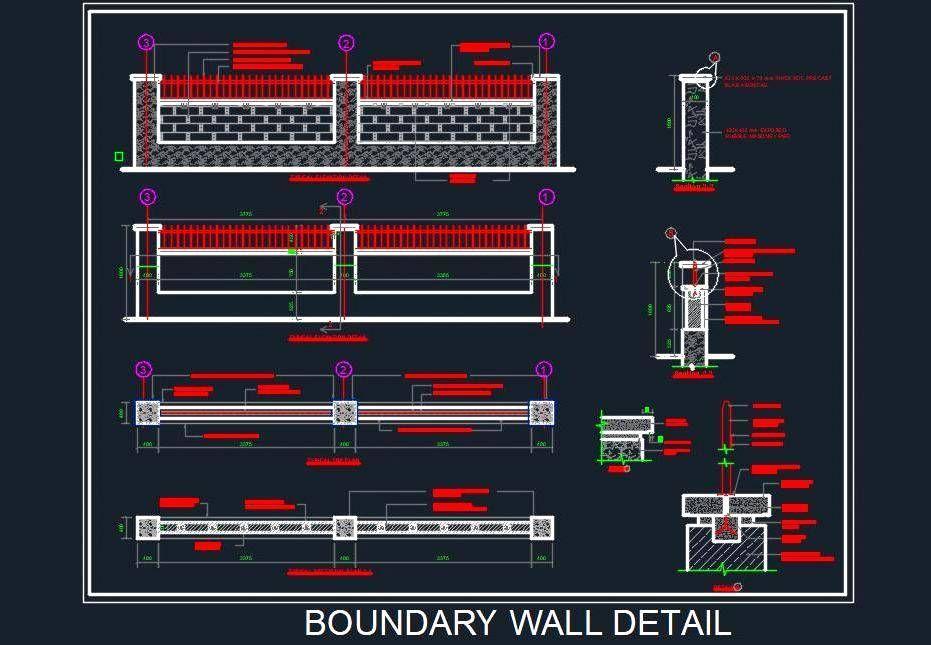 Boundry Wall Lighting Ideas