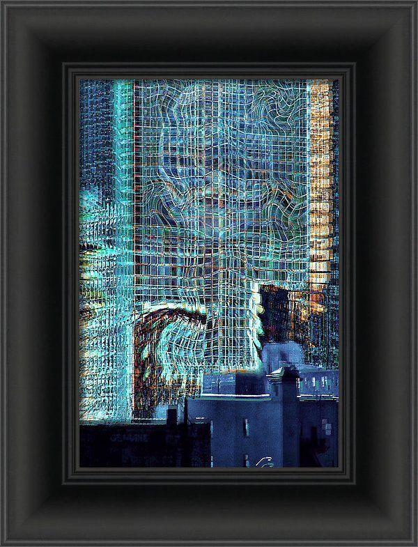 Alternate City - a contemporary artwork by Kellice