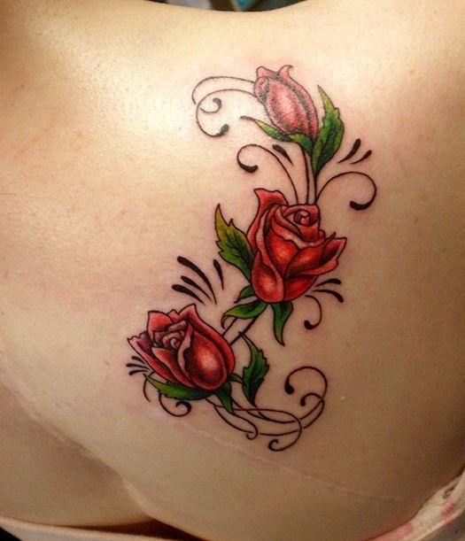 Tatuajes de rosas Descubre las mejores fotos de tatuajes de rosas - tatuajes de rosas