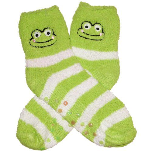 RSG Girls & Women's Animal Non Skid Slipper Socks (Froggy) RSG http://www.amazon.com/dp/B00H30DGFG/ref=cm_sw_r_pi_dp_Drhcwb03X0XR7
