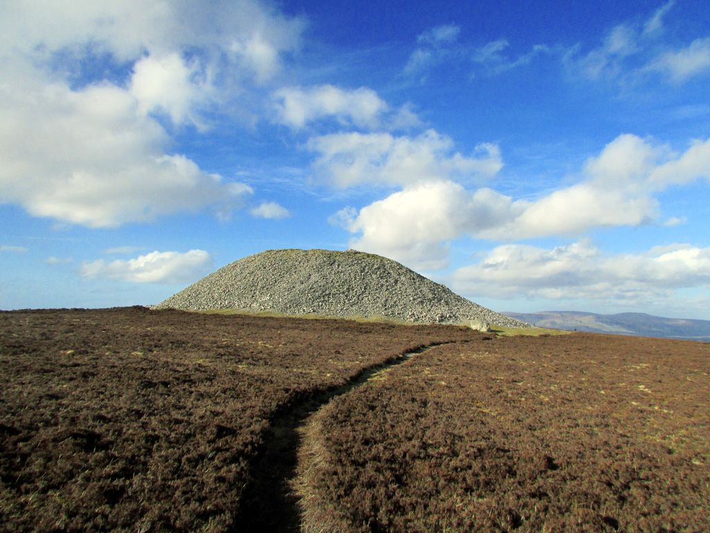 Image result for Medb's Cairn, Knocknarea, Co. Sligo
