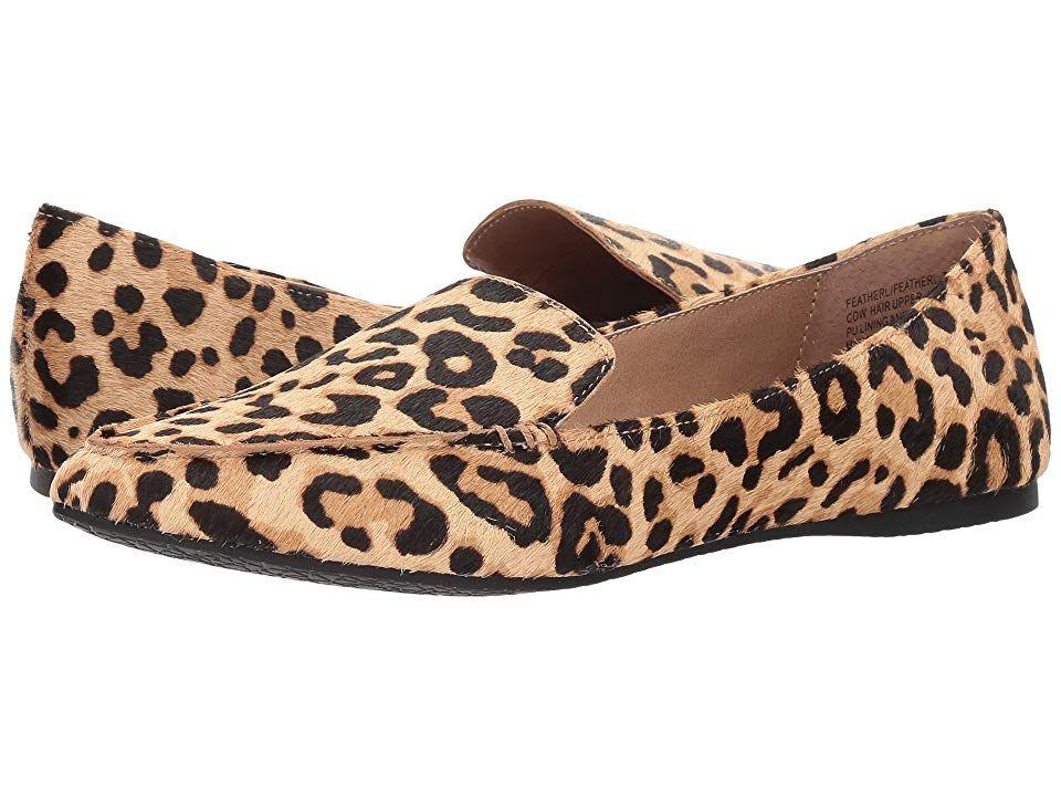 0edfdc7fec7 Steve Madden Featherl Loafer Flat Women's Flat Shoes Leopard in 2019 ...