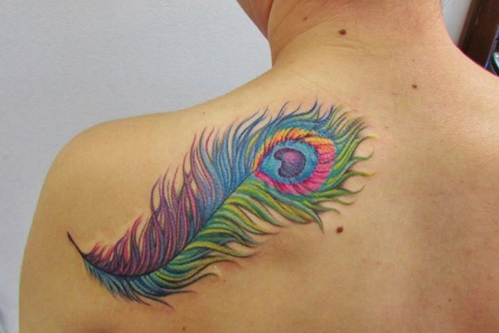 By judith white at the looking glass tattoo gallery in