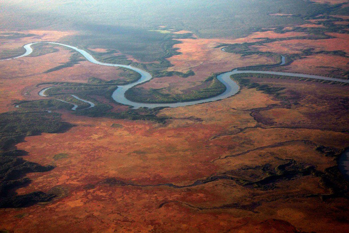 Песчаные дюны Танами — Северная Австралия