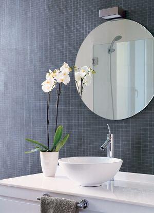 Blue Tech Refin Tiles Interior Design Bathroom Material Plans