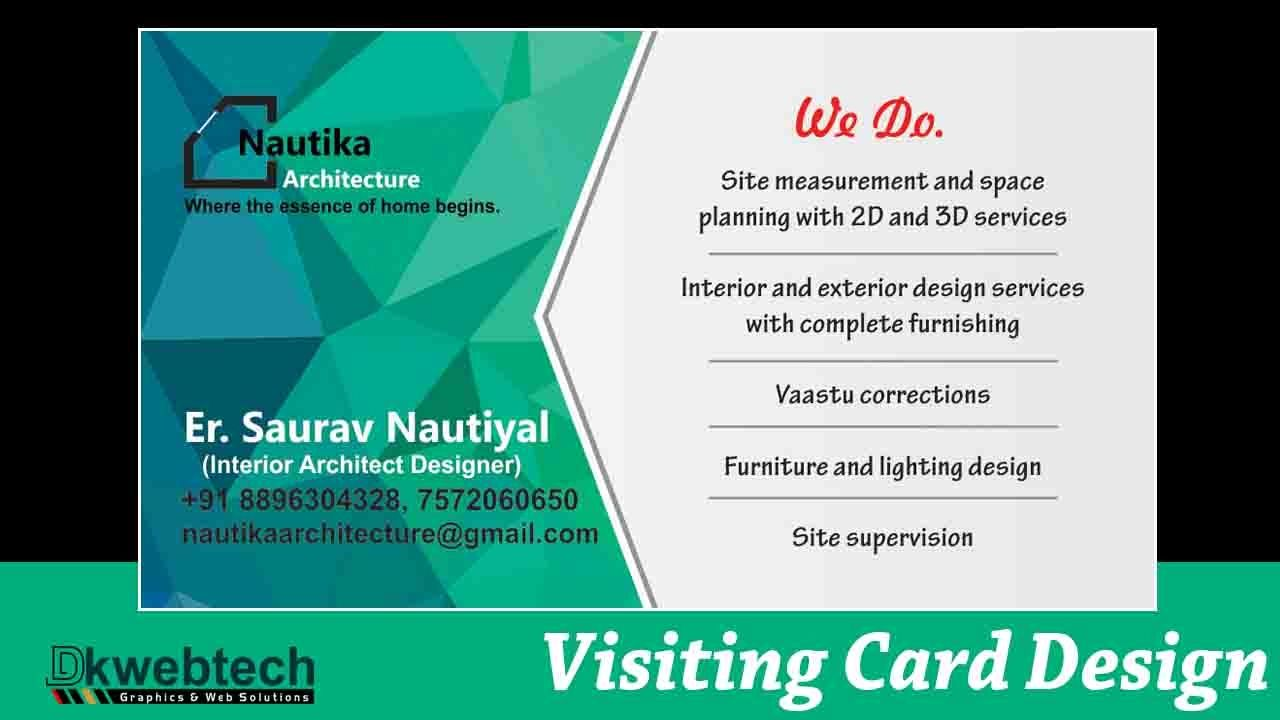 Professional business card designing ideas i coreldraw x8 in hindi professional business card designing ideas i coreldraw x8 in hindi reheart Images