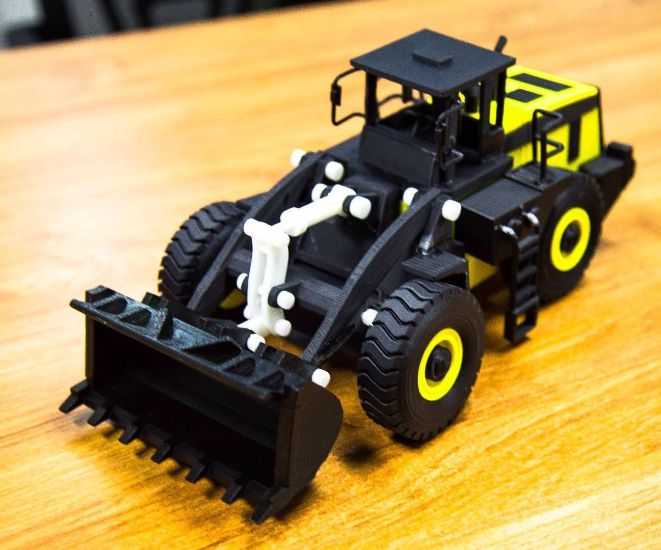 A 3D Printed Front End Loader 3d printing, 3d printing
