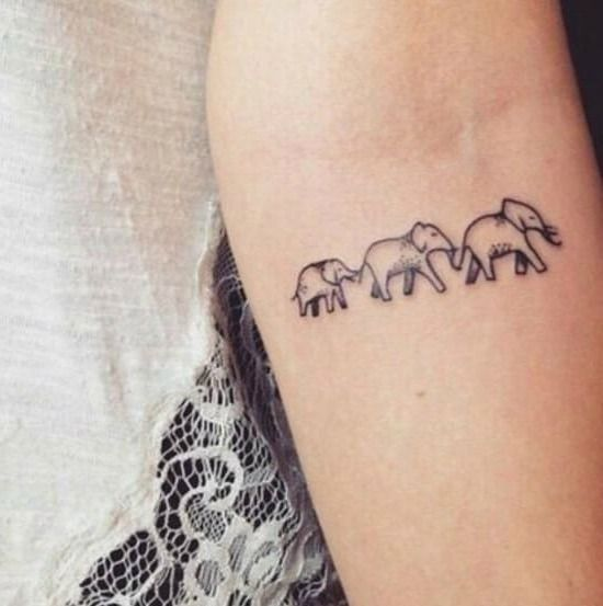 65 Cute and Inspirational Small Tattoos & Their Meanings You Will ...