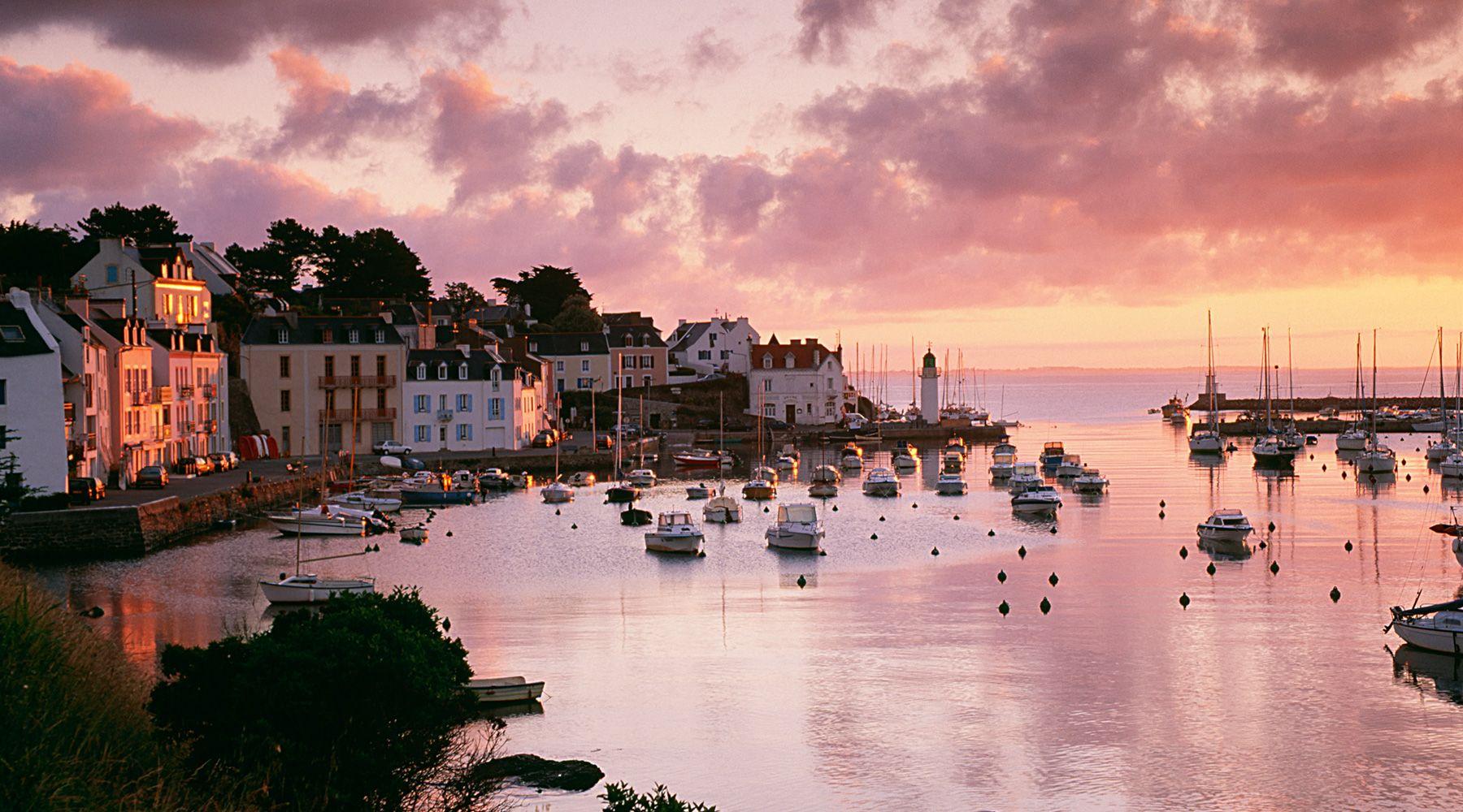Belle Ile, France.