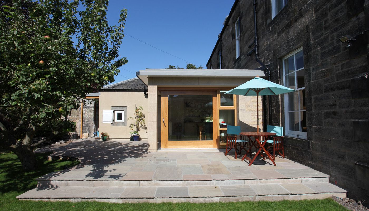 The Grange Lorn Macneal Architects Garden room