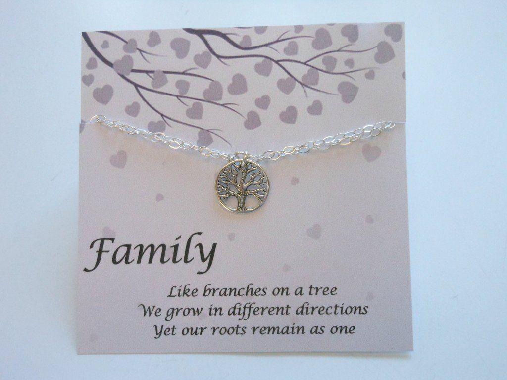 Bracelet Gift for MomsFamily Tree Bracelet (With images