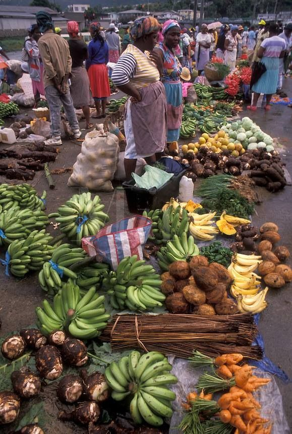 This picture reminds me of Mandeville Market in Jamaica