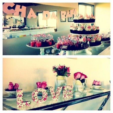 Chá de cozinha da Rafa : Tema Cupcake | Blog do Casamento