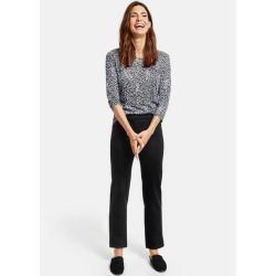 Photo of Gerry Weber 5-Pocket Jeans Straight Fit Black Black Denim Damen Gerry Weber