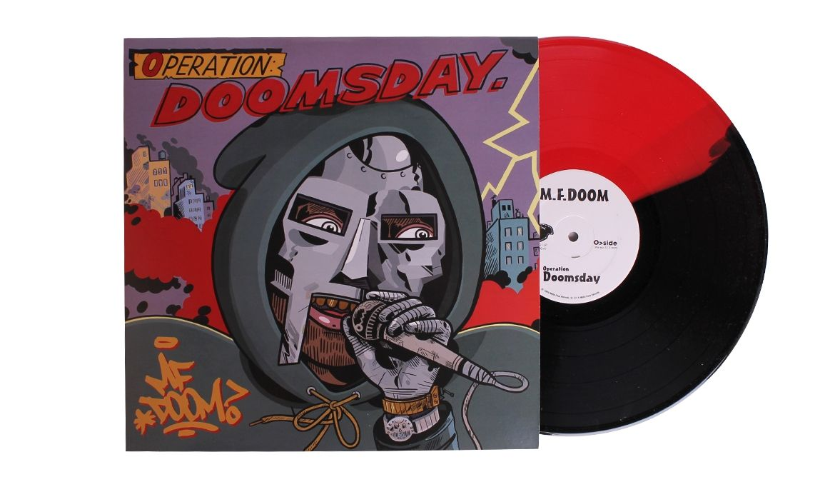 MF Doom Operation Doomsday LP Color Vinyl and Poster Audio