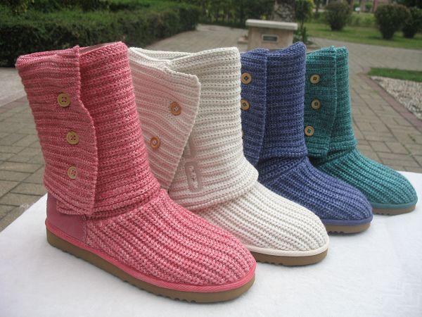 Mantenha seus pés quentinhos e elegantes com botas de Tricô e Crochê ...