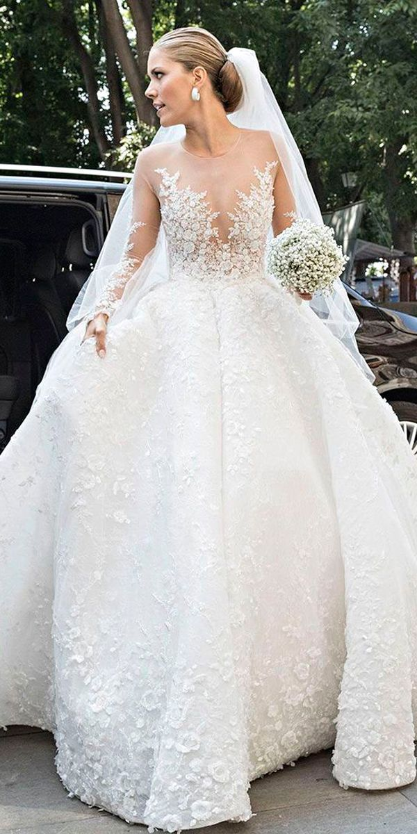 Photo of The Chic Technique: Celebrity wedding dresses. – Braut, Brautkleider, Brautschuhe, Brauthaar, Braut Make-up