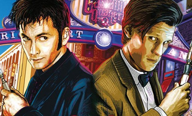 Doctor Who David Tennant And Matt Smith Wallpaper Google Search Karaktarskonst