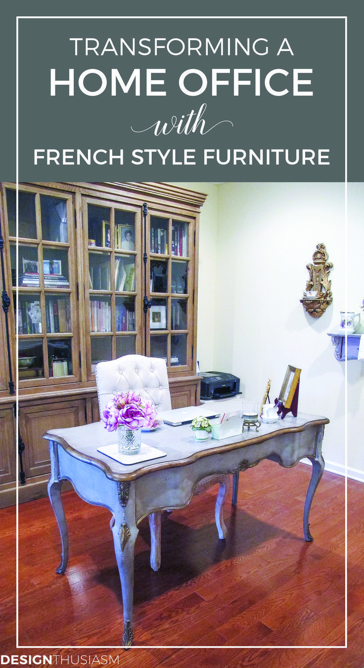 Transforming A Home Office With French Style Furniture Country Decorating Ideas Beautiful Work Es Desks