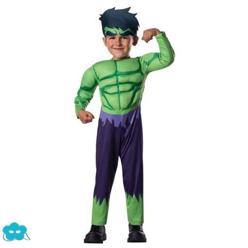 Disfraz de Hulk Vengadores Unidos para bebé Disfraces de - imagenes de disfraces de halloween