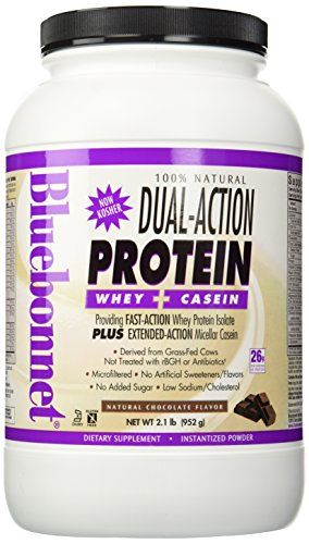 Dual Action Protein Chocolate - 2.1 lbs - Powder