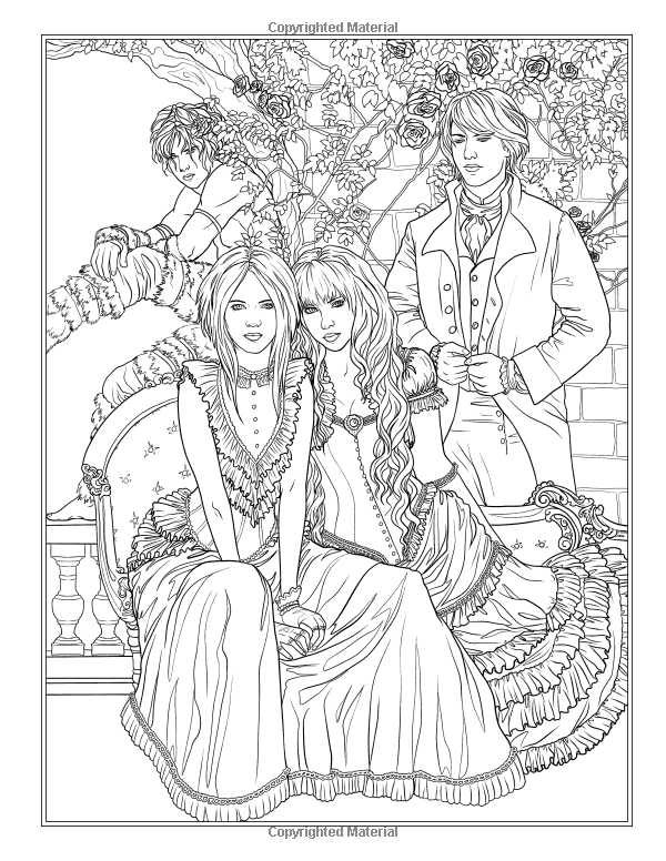 Victorian Romance The Memory 39 S Wake Coloring Book Fantasy Colouring By Selina Volume 13 Selin Coloring Books Steampunk Coloring Fairy Coloring Pages