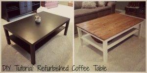 diy refurbished coffee table radical