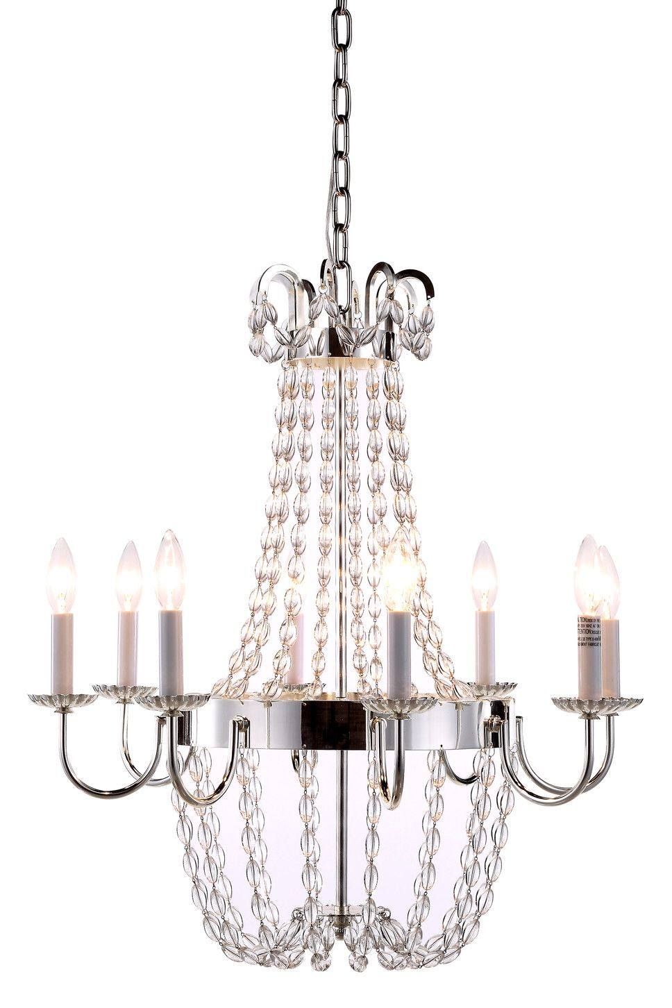Ellen 8 light candle style chandelier products pinterest chandeliers arubaitofo Image collections
