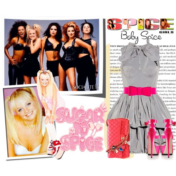 Spice Girls, created by fashionistatrendy on Polyvore