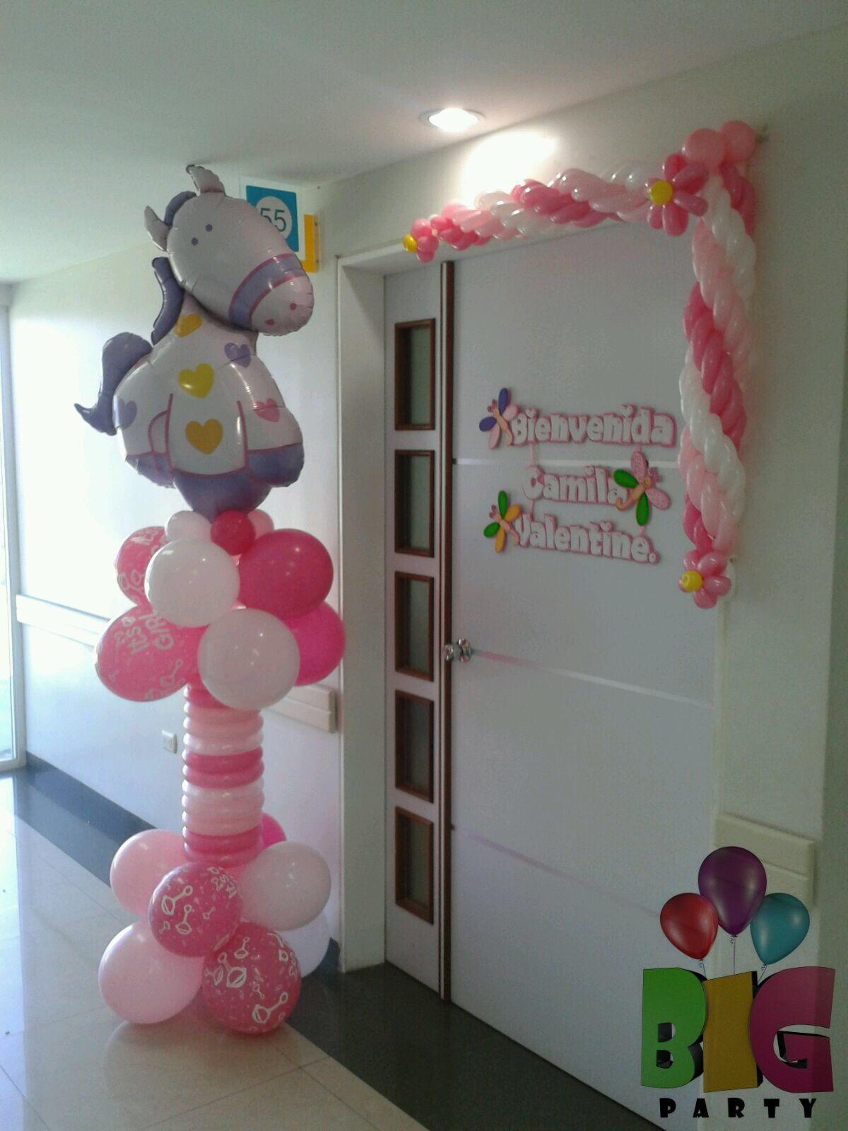 Arreglo bebe globos bebe newborn balloons - Adornos para bebes ...