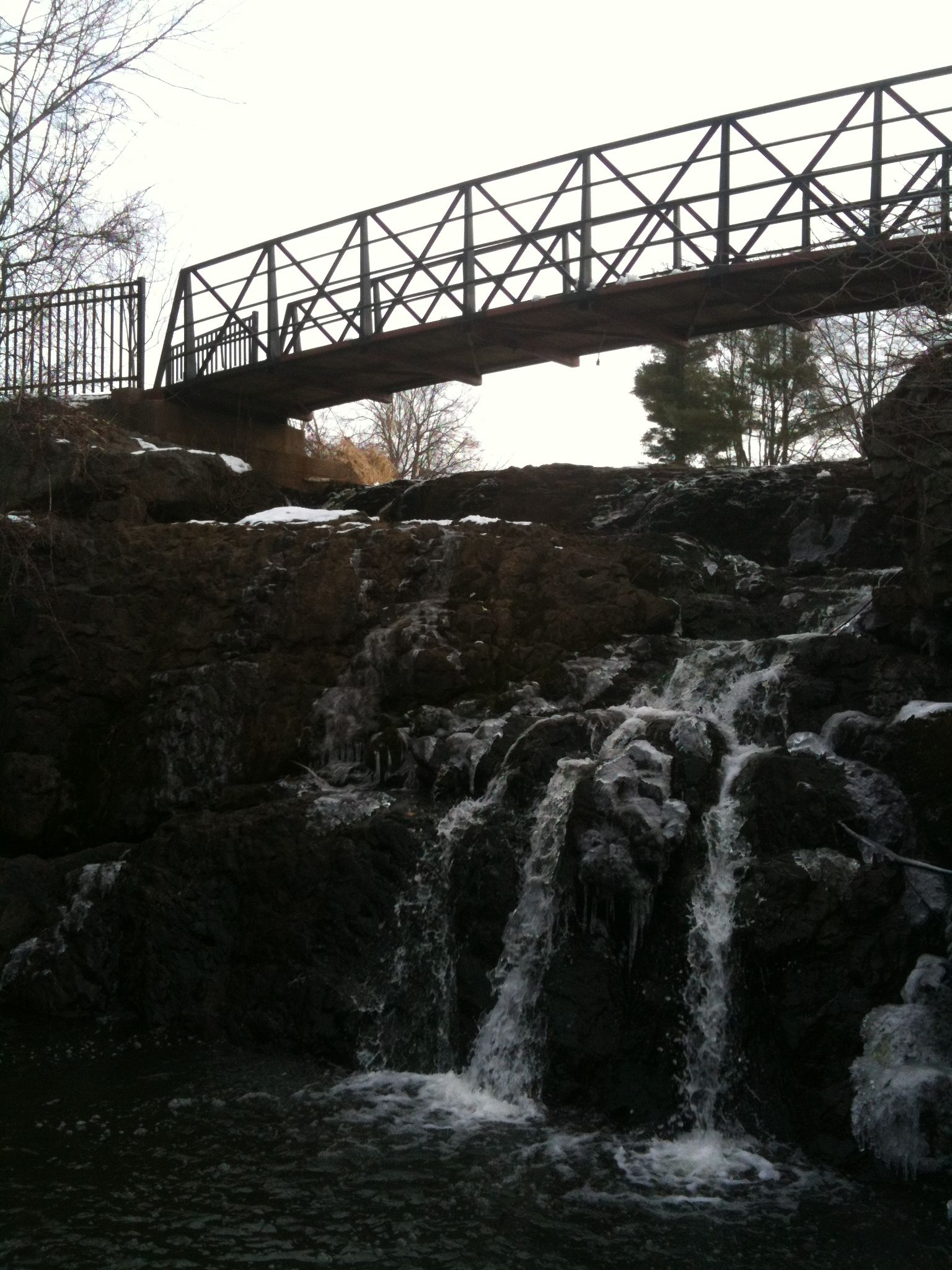 Let S Take The First Half Of That Newington Is Perhaps Best Known For Mill Pond Falls Really A Poll On Twitter And Face