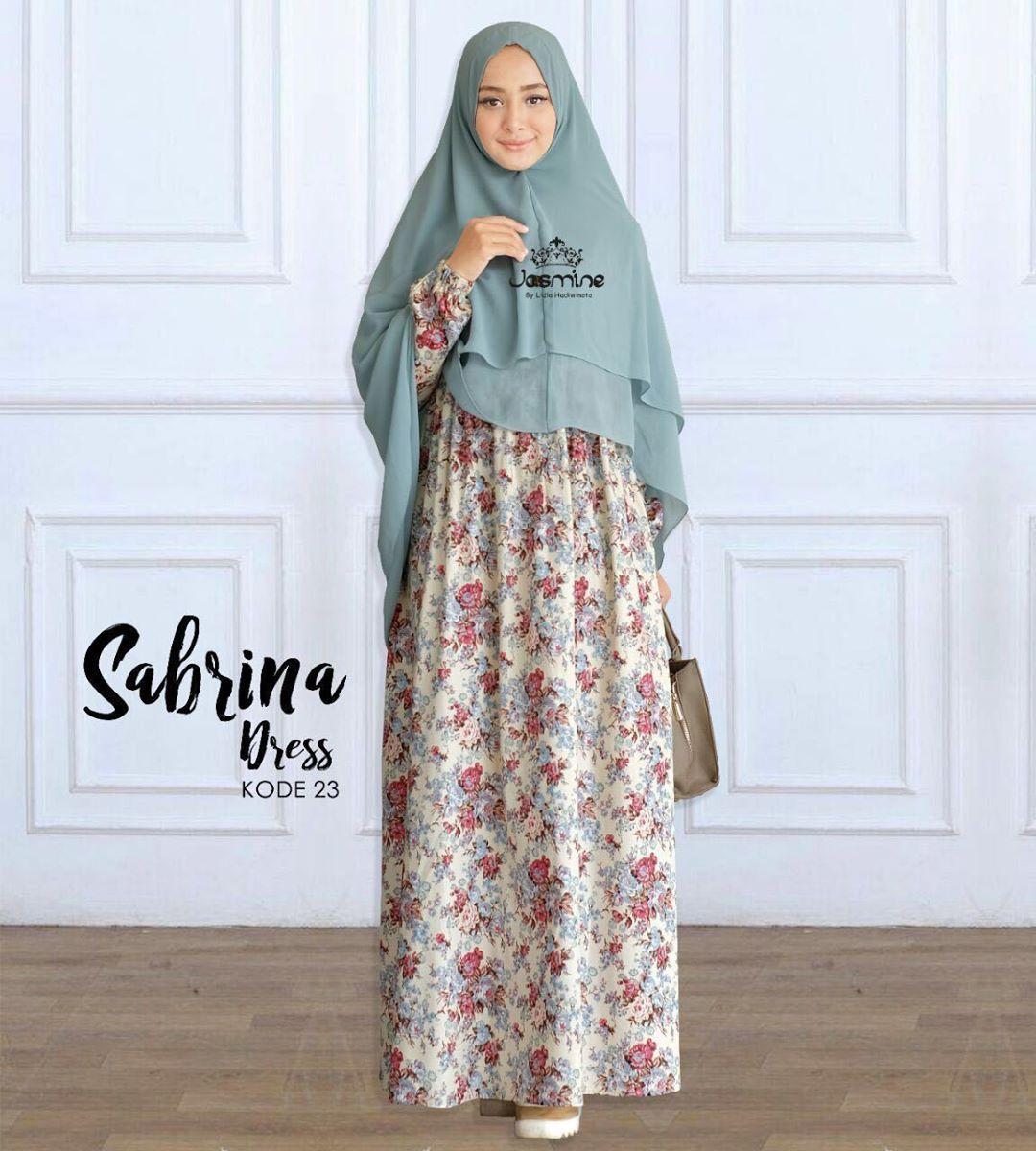 Gamis Jasmine Sabrina Dress 11 - baju gamis wanita busana muslim