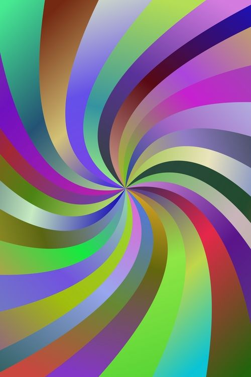09a0ee86c1 Multicolor spiral ray background | Backgrounds | Spiral, Vector ...