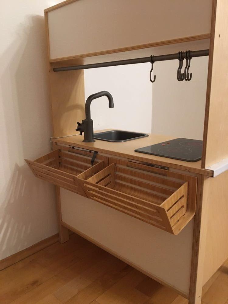 Ikea-Hack: So machst du aus deiner Kinderküche DUKTIG einen Kaufladen #ikeahacks