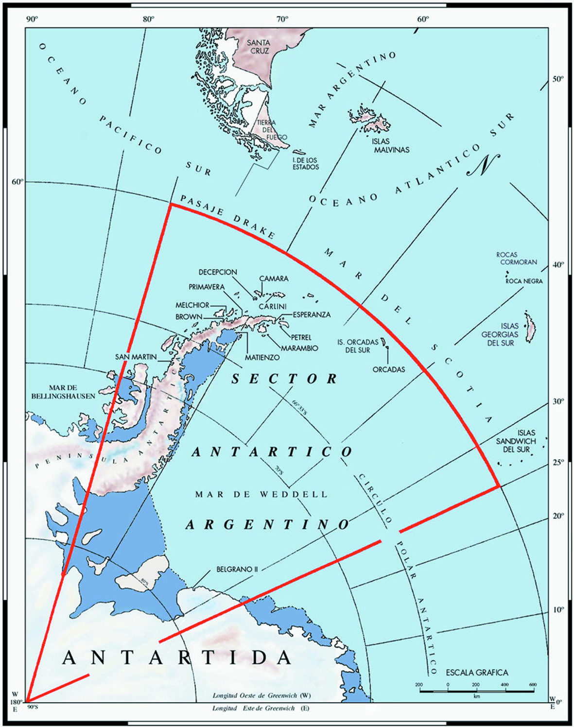 Argentine antarctic stations map is in spanish it includes the argentine antarctic stations map is in spanish it includes the islas malvinas the gumiabroncs Images