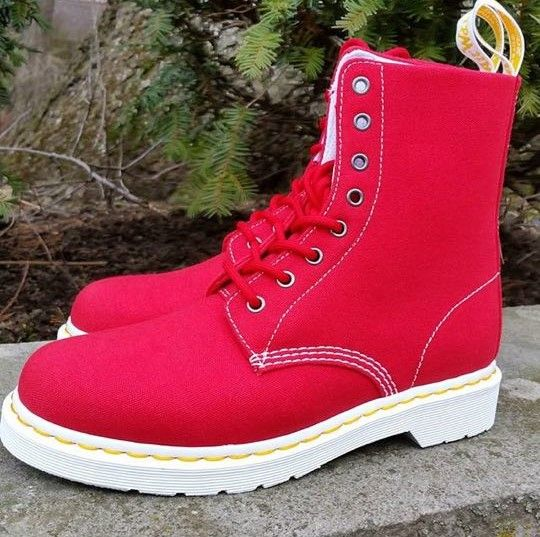 The Red Page Canvas Boot, shared by