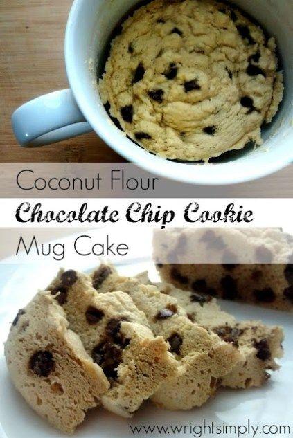 Keto Cake in a Mug – Recipes of Healthy Low Carb Mug Cakes #mugcake